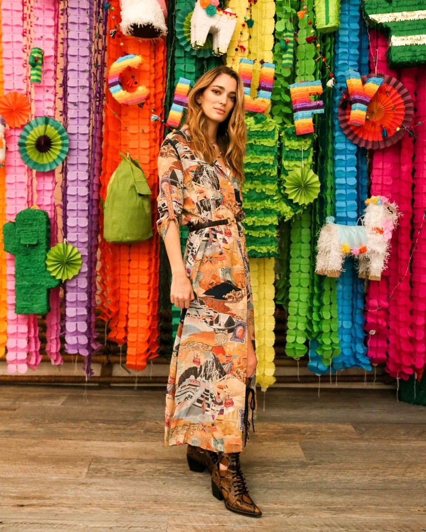 CHUFY HOLIDAY PARTY WITH THE LUXURY COLLECTION: to celebrate the launch of her new collection inspired by a journey across Peru with The Luxury Collection