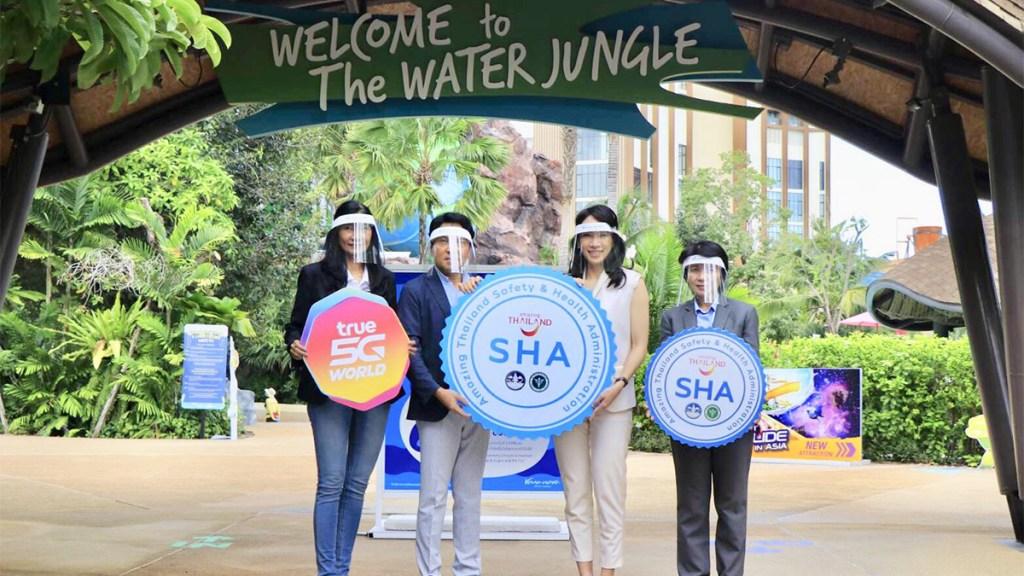 Vana Nava Water Jungle & InterContinental Hua Hin get Amazing Thailand SHA certificate