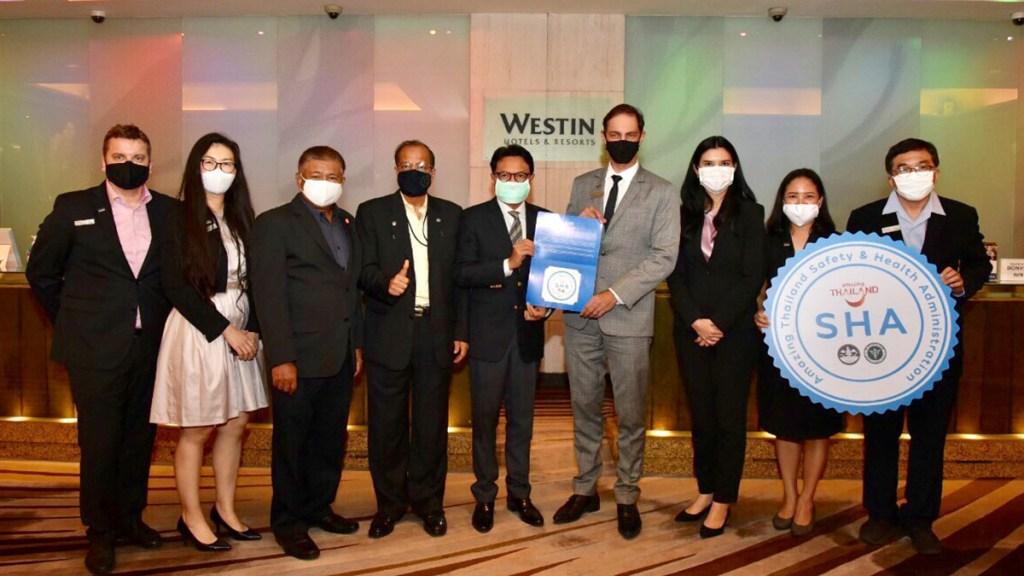 Westin Grande Sukhumvit Bangkok awarded Amazing Thailand SHA certificate