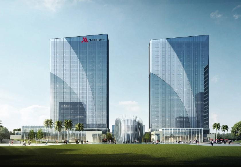 Fuzhou Marriott Hotel Riverside Hotel Photo .jpg